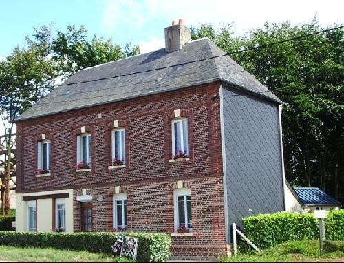 vente d'une maison en briques