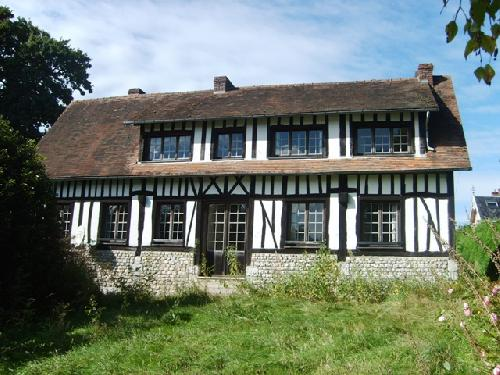 Acheter vente d 39 une maison normande avec vue seine proche for Acheter une maison par agence immobiliere