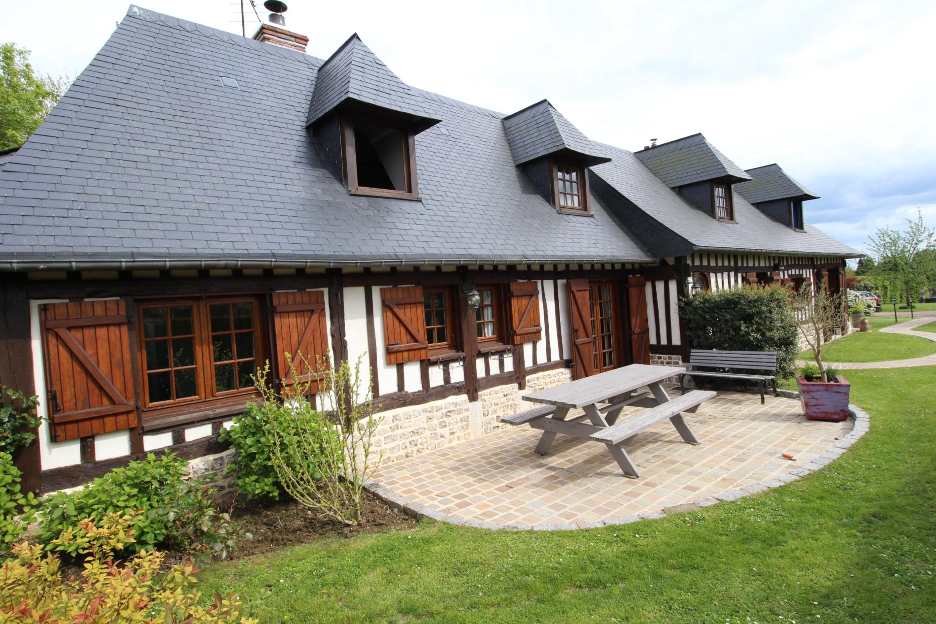 Acheter vente maison normande en tr s bon tat axe for Vente immobiliere maison