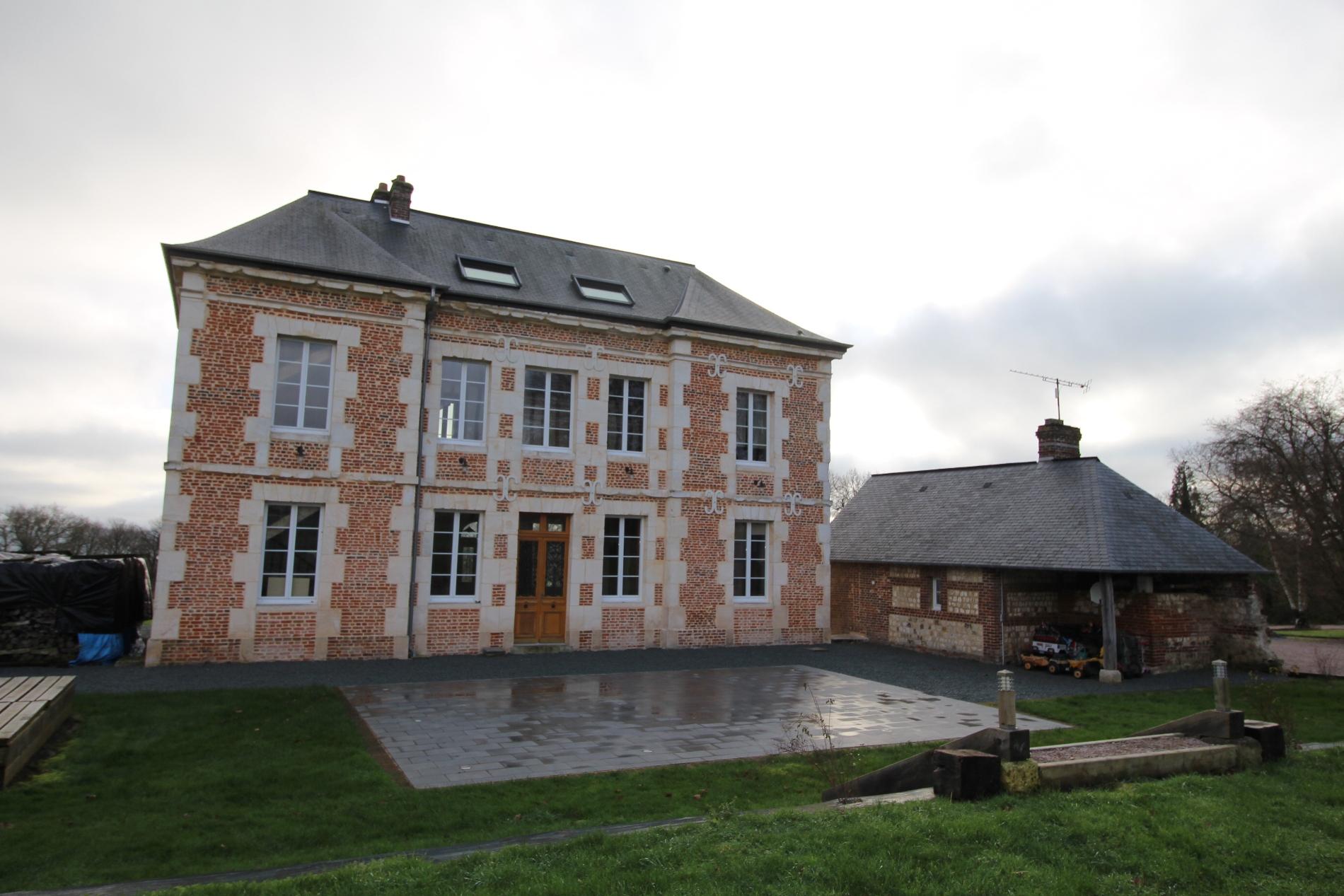 Vente d\'une maison ancienne en briques et pierres Campagne de ...
