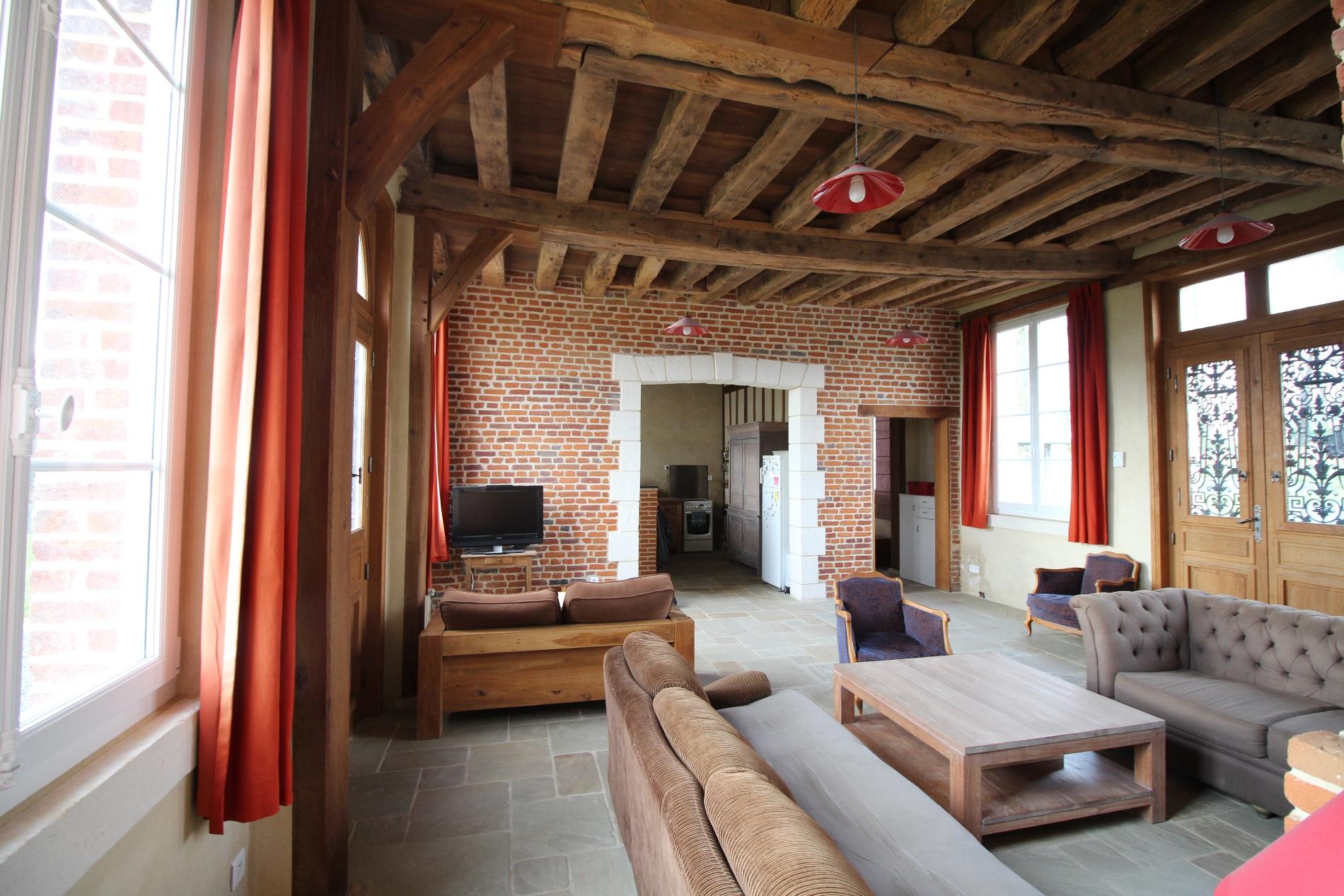 acheter vente d 39 une maison ancienne en briques et pierres campagne de caudebec en caux vall e de. Black Bedroom Furniture Sets. Home Design Ideas