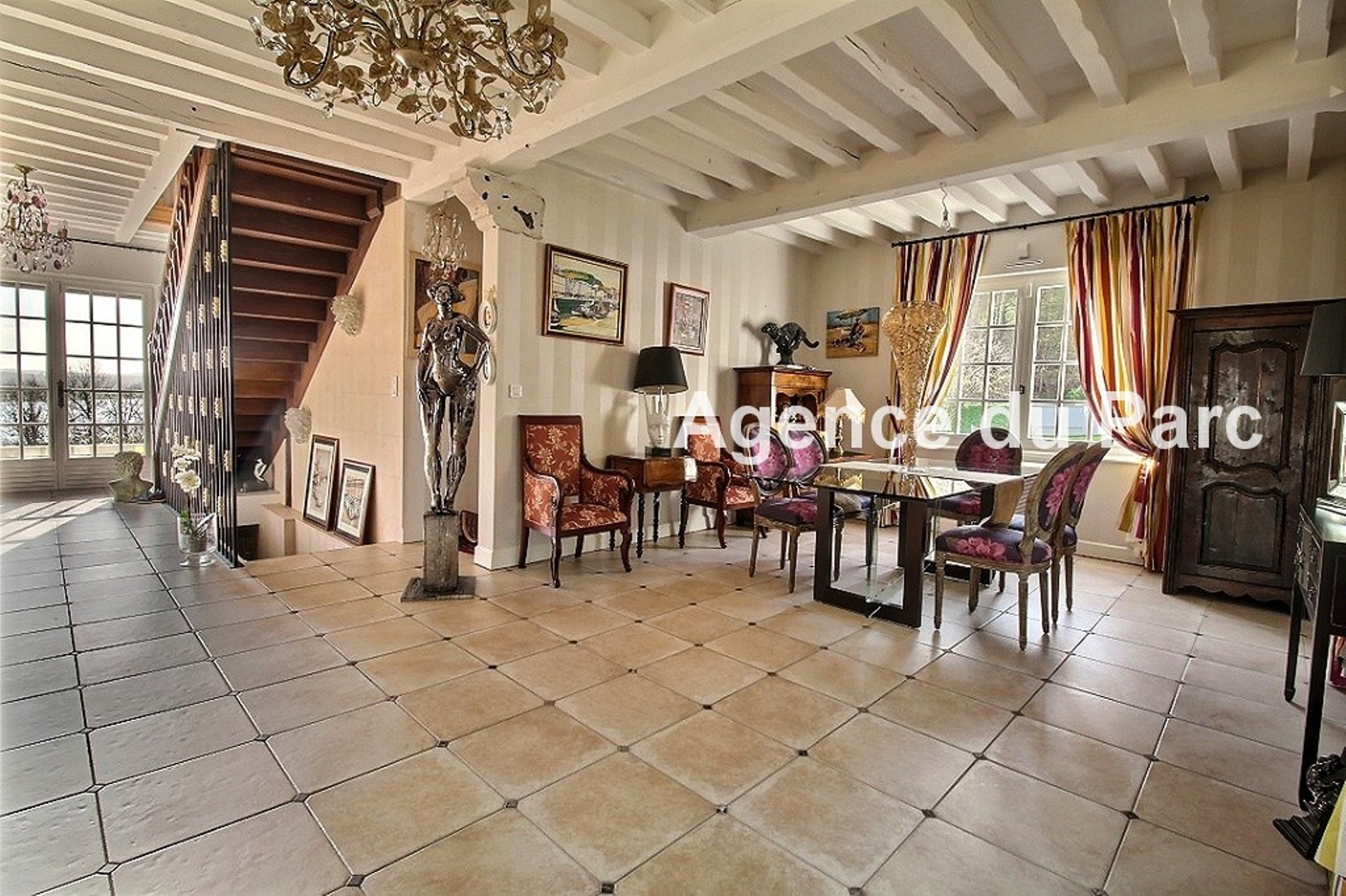 Acheter vente d 39 une maison de caract re colombages for Achat maison 2h de paris