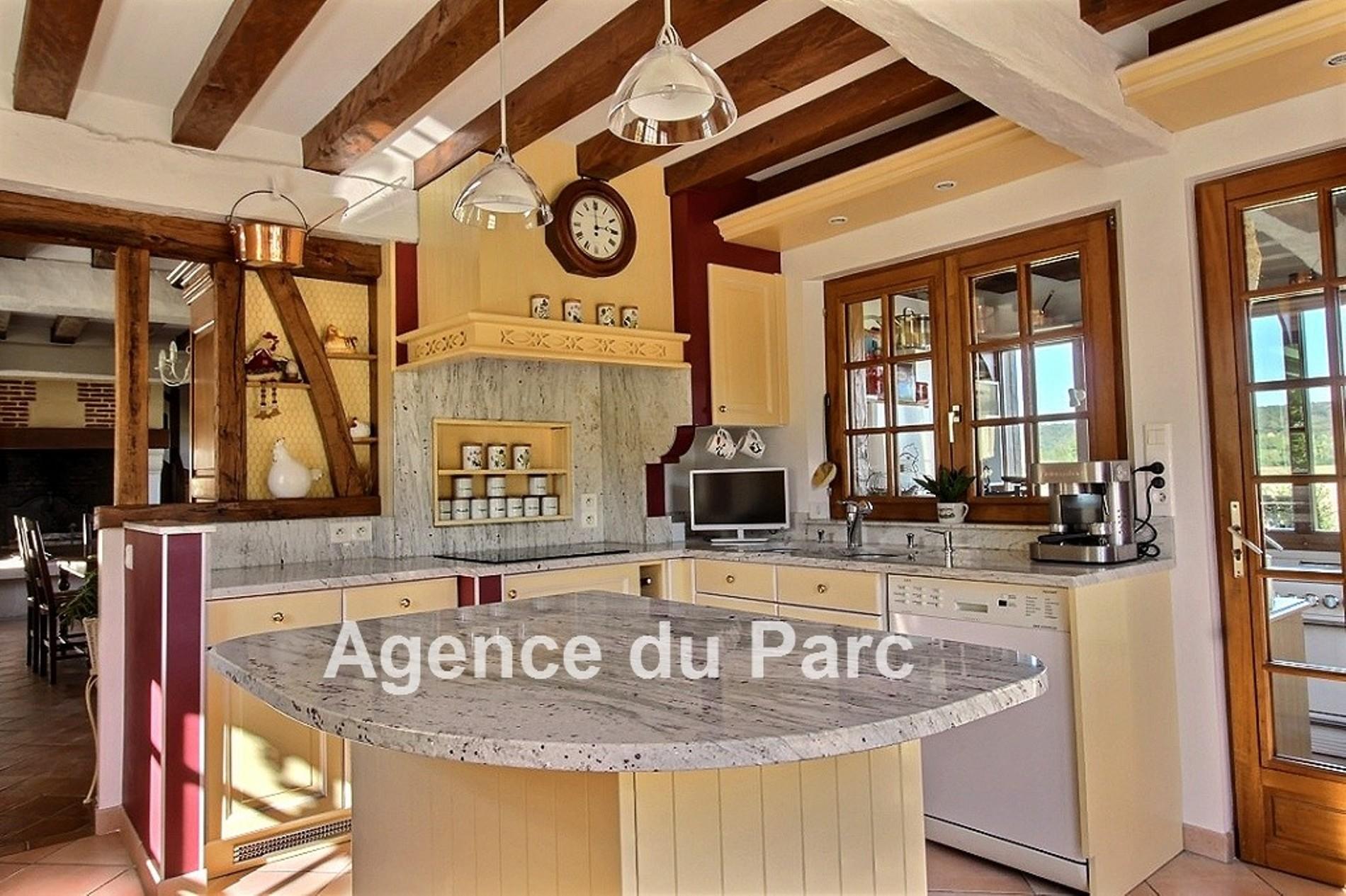 Acheter achat d 39 une charmante maison normande en vall e de for Acheter une maison par agence immobiliere