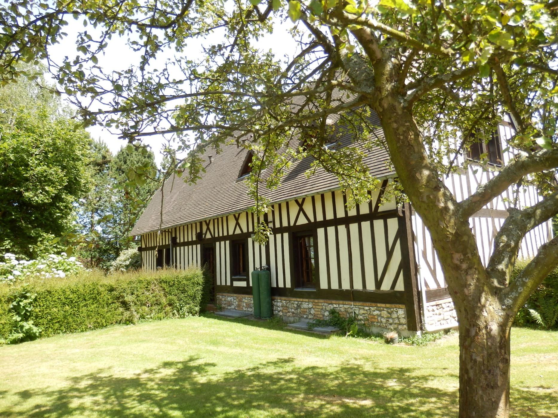 Acheter maison normande de charme vendre yvetot haute for Garage a yvetot