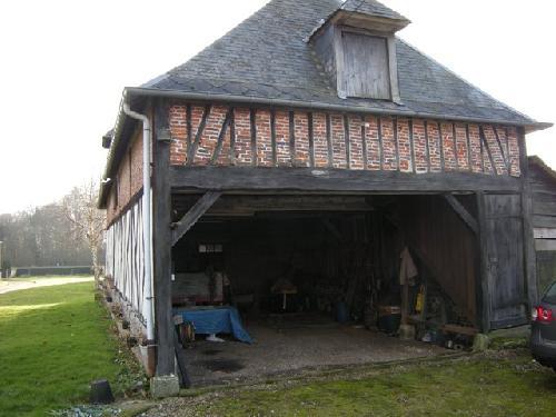 Corps de ferme en briques Campagne de Caudebec en Caux, 76,