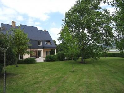 Vente d'une maison contemporaine avec une magnifique vue sur Seine Proche du Pont de Brotonne, vallée de Seine, 76