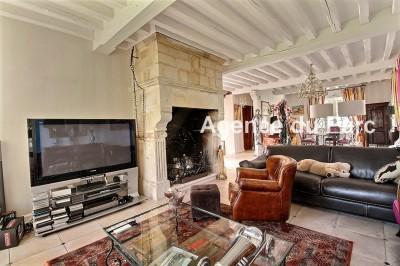 acheter achat d 39 une grande maison de charme avec une vue exceptionnelle sur la seine campagne de. Black Bedroom Furniture Sets. Home Design Ideas