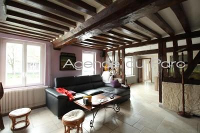 acheter maison ancienne, 4 chambres, piscine et jacuzzi, vallée de seine