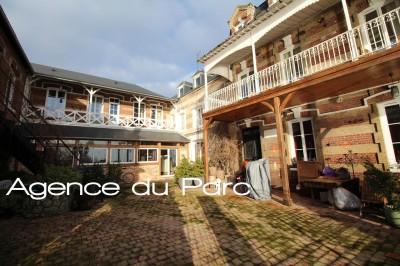 vente d'une grande maison pour chambres d'hotes à 1h30 de Paris, dans la Vallée de la Seine, 76