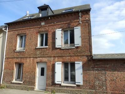 Vente d'une maison de ville en briques  Yvetot, Haute Normandie, près du centre ville