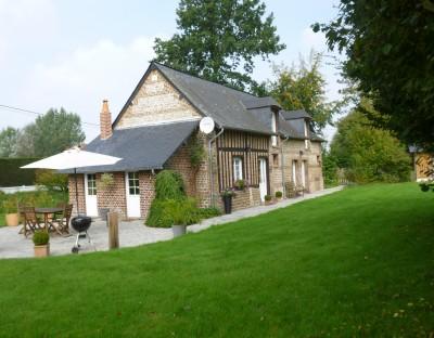 Maison normande de charme à vendre Campagne d'Yvetot, au coeur du Pays de Caux, 76,  accès aux grands axes très facile