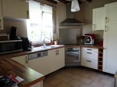 acheter une maison normande entièrement rénovée dans la campagne d'Yvetot avec grande dépendance en bois sur 2000 m² de terrain env