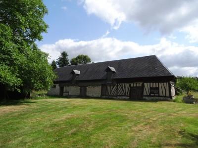 Achat d'un bâtiment ancien à restaurer Presqu'ile de Brotonne, vallée de Seine, 76, axe Caudebec en Caux/Bourg Achard