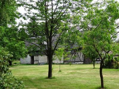acheter un batiment normand à restaurer de 150 m² env sur 3000 m² de terrain en Normandie