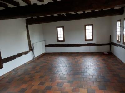 acheter une maison  normande de caractère à colombages, couverte en chaume en Normandie