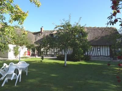 Maison normande de charme à vendre Axe Caudebec en Caux / Notre Dame de Gravenchon, Vallée de Seine, 76,