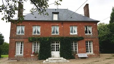 vente d'une belle maison de maître  Aux environs de Rouen, Haute Normandie, en bordure de forêt,