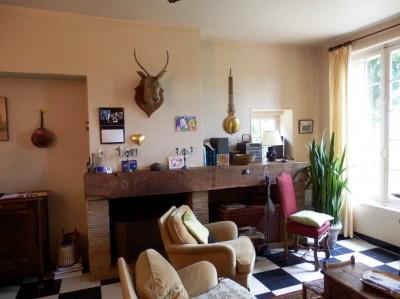 acheter une grande maison de maître ancienne proche de la forêt, dans la campagne de Rouen