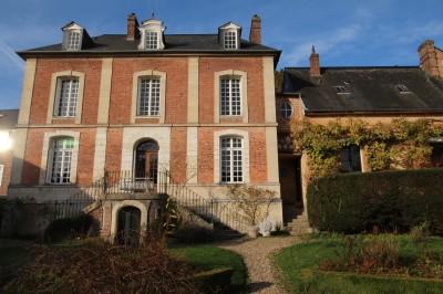 Maison de charme du XVIIIème à vendre en Normandie, entre Rouen et la mer, 76, à 30 mn de Rouen et 2h de Paris,