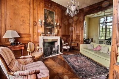 achat d'une maison ancienne offrant de belles pièces de réception, une grande capacité de logement à 30 mn de Rouen