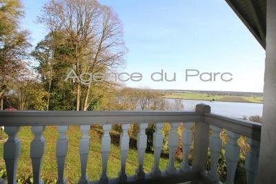 achat d'une propriété normande en vallée de Seine avec une vue magnifique sur le fleuve