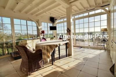 vente d'une maison en très bon état, très fonctionnelle, en Normandie avec vue sur Seine