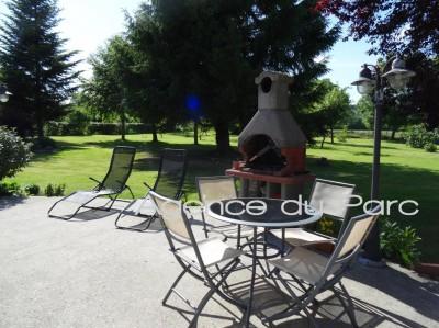 vente d'une maison ancienne en très bon état avec vue sur la vallée de Seine