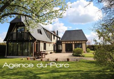 Maison normande de charme à vendre Campagne d'Yvetot, au coeur du Pays de Caux, 76, à 1h30 de Paris