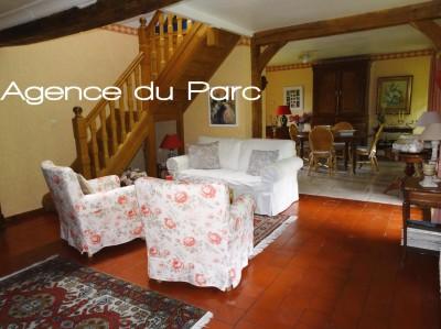 vente d'une maison à colombages sans vis à vis dan s la campagne de Caudebec en Caux