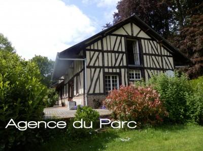 vente d'une maison normande, idéale résidence secondaire avec 6 chambres et piscine, 76