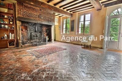 Achat d'un manoir normand du XVIIème en briques et colombages Entre Rouen et la mer, en Normandie, à 30 mn de Rouen et 2 h de Paris