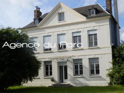 Vente d'une belle maison de maître du XIX ème Campagne de Caudebec en Caux, Vallée de Seine, Normandie