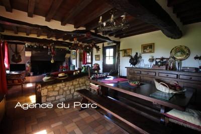 Chaumière de charme à vendre A la campagne, en Vallée de Seine, Normandie 76