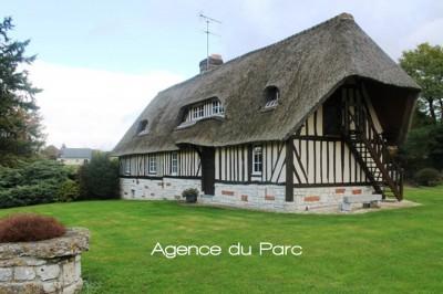 Achat d'une chaumière normande Proche du Pont de Brotonne, axe Caudebec en Caux/Bourg Achard, Vallée de Seine, 76