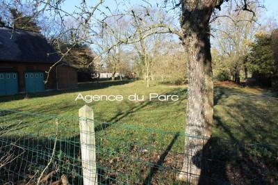 achat d'une maison normande ancienne avec 3 chambres entre Caudebec et Bourg Achard sur un terrain de 3800 m² env
