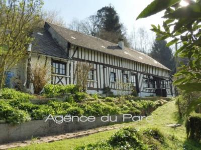 achat d'une charmante normande dans un très bel environnement, campagne de Caudebec en Caux, vallée de Seine