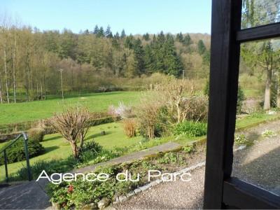 acheter une longère normande de plain pied, campagne Caudebec en Caux, sur 2000 m² de terrain avec une belle vue dégagée