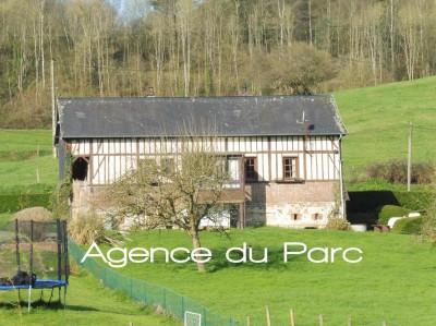 Achat d'une maison normande Campagne Caudebec en Caux, vallée de Seine, en Normandie