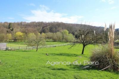 achat d'une normande ancienne, sur 2000 m² env, avec une belle vue sur la campagne, à proximité des grands axes