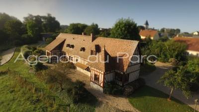 Achat d'une charmante maison normande en vallée de Seine, proche du Pont de Brotonne, entre Rouen et Le Havre, 76, à 1h30 de Paris