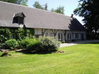 Maison normande à acheter Campagne à 10 min d'YVETOT dans un bel environnement Etat impeccable