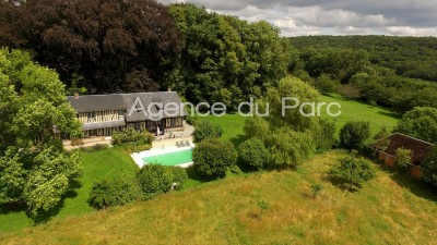 Achat d'une maison normande Saint Paer, Campagne de Duclair, 10 km de Barentin, en Normandie