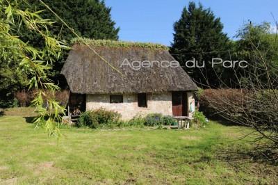 achat de charmantes chaumières normandes idéales pour un projet de gîtes en vallée de Seine à 45 mn de la mer