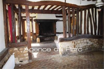 vente d'un ensemble de maisons normandes anciennes à colombages, dans un très bel environnement verdoyant, vallée classée