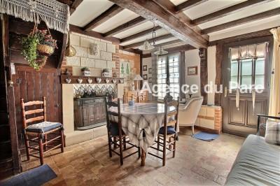 vente d'une maison ancienne en bon état, en Normandie, à 2 h de Paris