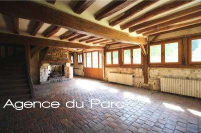 achat d'une propriété normande de caractère, aux environs d'Yvetot, sur 5000 m² env, nichée dans une vallée verdoyante protégée