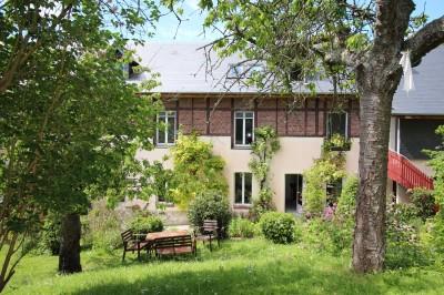 Vente d'une maison de caractère, pleine de charme Caudebec en Caux, Rives en Seine, Vallée de Seine, Normandie