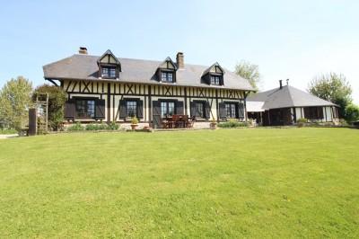 Maison normande à acheter Entre Caudebec en Caux, Yvetot, Lillebonne, Normandie, Pays de Caux