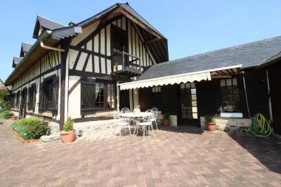 acheter une maison de caractère bien exposée, dans un bel environnement, au calme, en campagne, entre Yvetot et Lillebonne