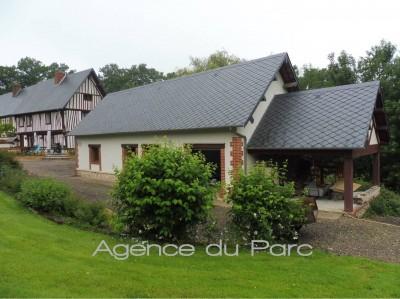 Maison normande à vendre Campagne de Caudebec en Caux, entre Rouen et Le Havre, en Normandie